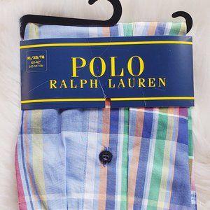Polo Ralph Lauren Plaid Boxers - Large - NEW